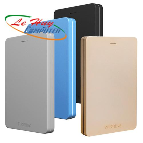 """Ổ Cứng Di Động TOSHIBA 2,5"""" Canvio Alumy Portable 2TB-USB 3.0"""