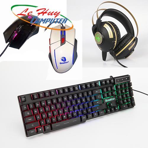 Combo Bàn phím & Chuột máy tính Bosston MK915 - GM500 EX560 GAME