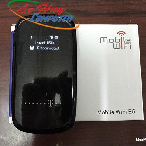 Thiết bị mạng-Bộ phát sóng Wifi di động 3G CÓ LCD   E5