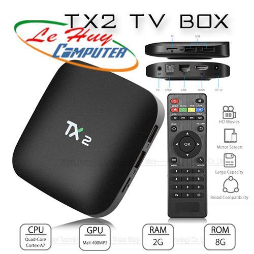 TIVI BOX TX2-R2  RAM 2G/16G ANROID