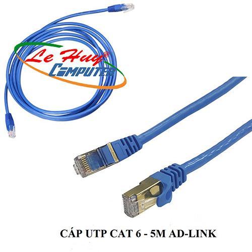 Cable mạng đúc 5M UTP CAT 6  AD - LINK