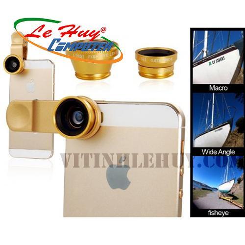 Bộ LENS --LQ-001 --3 in 1 --HỖ TRỢ chụp hình ĐIỆN THOẠI/ IPad