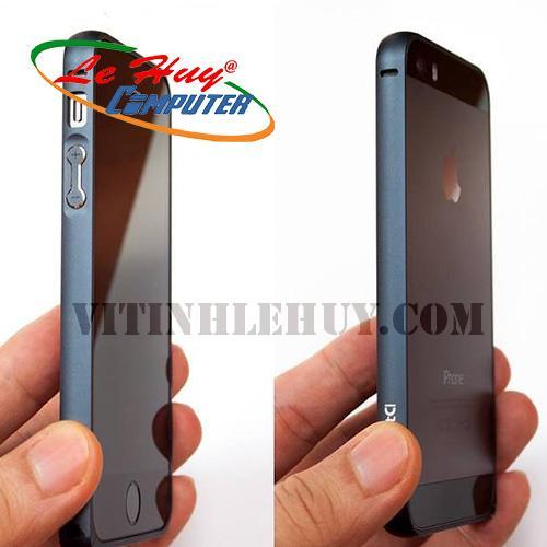 Viền Nhôm bảo vệ IPHONE 4-4S trơn đen /bạc