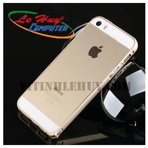 Viền Nhôm bảo vệ IPHONE 6 trơn vàng/đen/bạc
