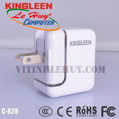 SẠC CỐC ipad-KINGLEEN-CÓ ĐÈN-BOX (C828)