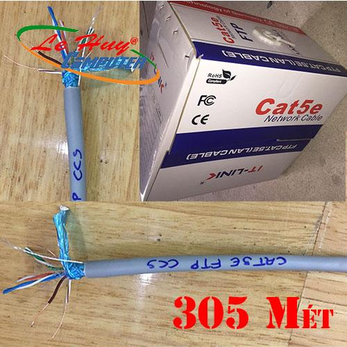 CÁP MẠNG IT - LINK  FTP Cat5e 305m CCA