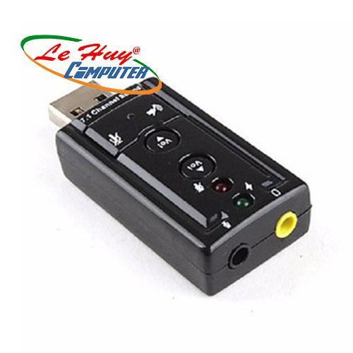 USB ra sound 2.1 –3D –7.1 APPLE –  Ra 2 Lỗ