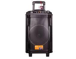 Loa Kéo Di Động + 2 Micro BD H1265YS UHF (BT/USB/TF) 3 Tấc