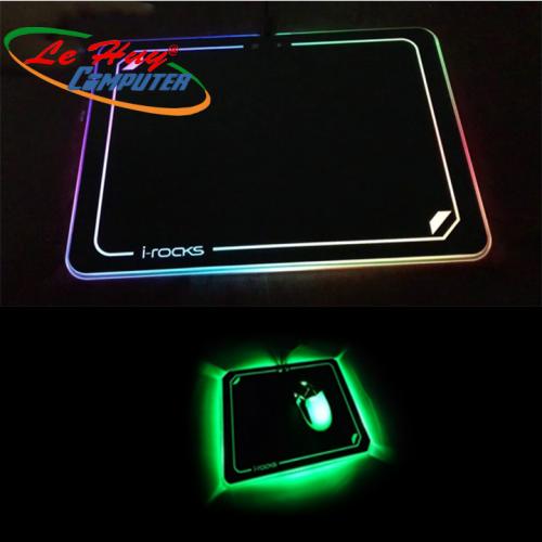 MIẾNG LÓT CHUỘT i-Rocks: Gaming Mouse PAD IRC15E - MỚI NÂNG CẤP LED
