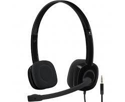Tai nghe Logitech Headset H151 Âm thanh stereo Mic giảm ồn/ chân cắm 3.5mm