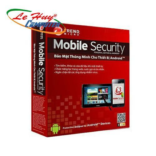 Phần mềm diệt virus Trend Micro Mobile Security 2018 (1DEV/1YEAR)