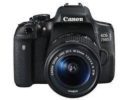 Máy ảnh Canon  EOS 750D Kit  Lens 18 – 55 IS STM