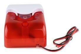 Còi báo trộm có đèn flash GUARDMAN GS-S02 (có dây)