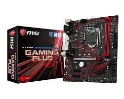 Bo Mạch Chủ - Mainboard MSI B360M Gaming Plus (Coffee Lake)