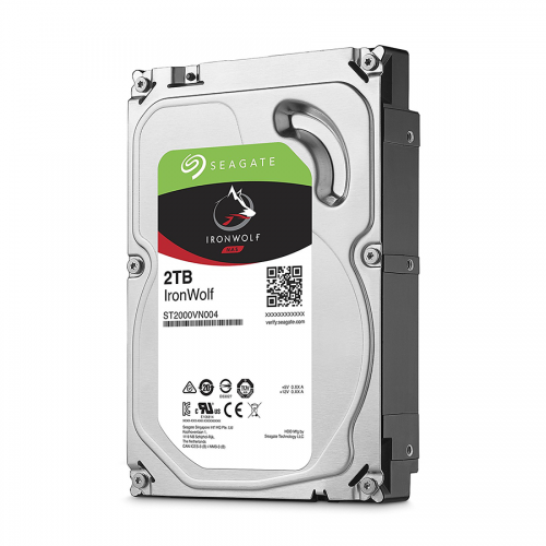Ổ Cứng HDD Seagate NAS 2TB IRONWOLF(128MB/7200)