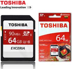 Thẻ nhớ SD Toshiba 64G CLASS 10