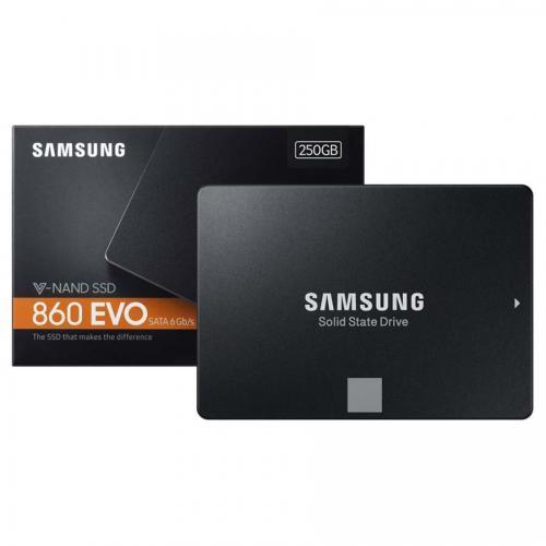 Ổ cứng SSD Samsung 860EVO - 250GB SATA III(MZ-76E250BW) Chính hãng