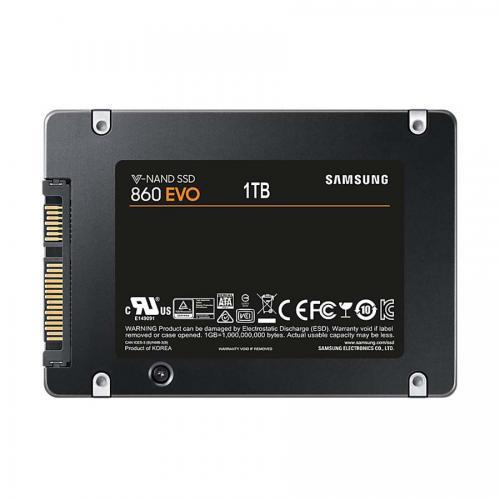 Ổ cứng SSD Samsung 860EVO - 1TB SATA III(MZ-76E1T0BW) Chính hãng