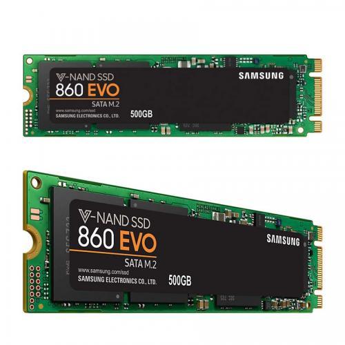 Ổ cứng SSD Samsung 860EVO - 500GB M2 2280(MZ-N6E500BW) Chính hãng