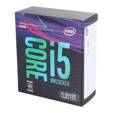 CPU Intel® Core i5 8600 Processor (Coffee Lake)-BẮT BUỘC MUA KÈM MAIN GIGA Z370 CÁC DÒNG