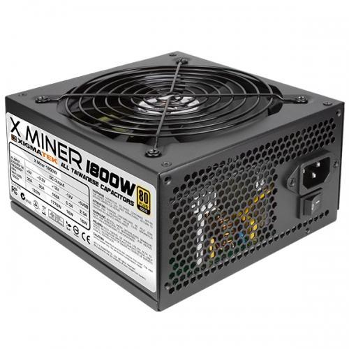 Nguồn máy tính XIGMATEK 1800W - 80 PLUS GOLD