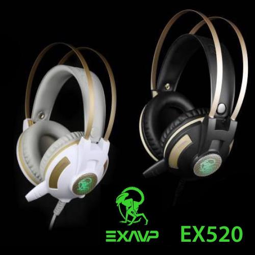 Tai nghe - Headphone EXAVP EX520 LED Full Box