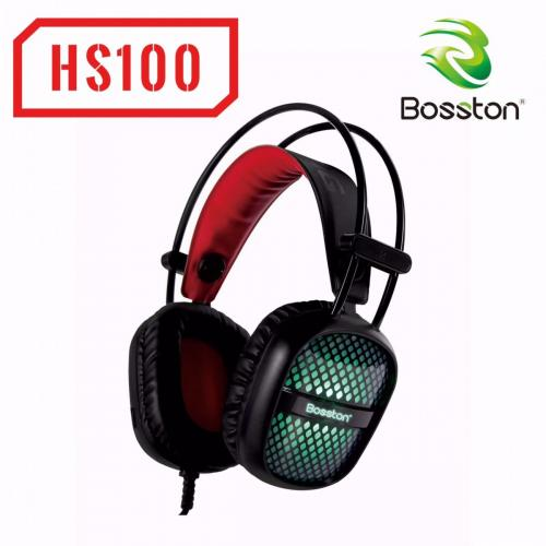 Tai nghe - Headphone Bosston HS100-LED