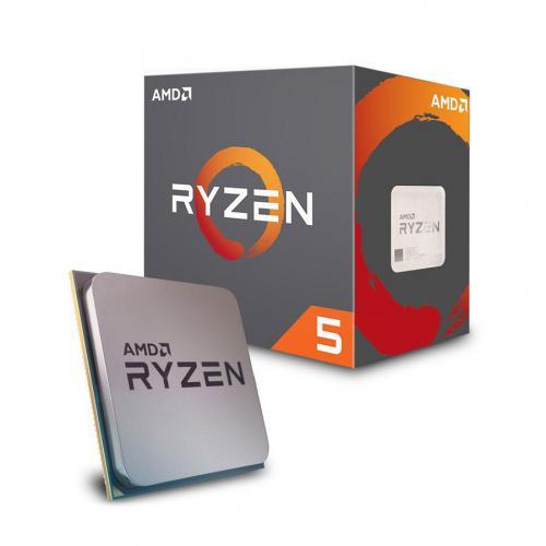 CPU AMD Ryzen 5 2600X 3.6 GHz (4.2 GHz with boost) / 19MB / 6 cores 12 threads / socket AM4