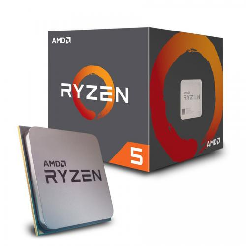 Bộ vi xử lý - CPU AMD Ryzen 5 1600  3.2 GHz (3.6 GHz with boost) / 16MB / 6 cores 12 threads / socket AM4