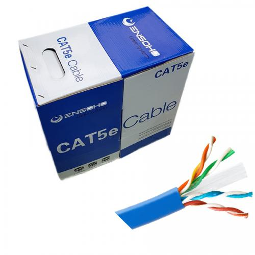 CABLE ENSOHO Cat5e UTP EN-U5CA24  305m
