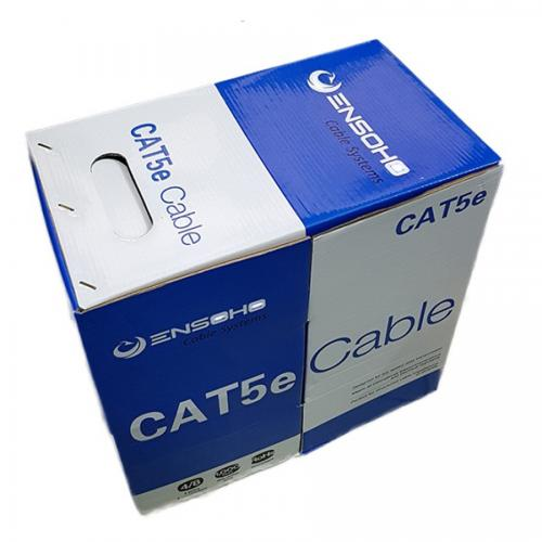 CABLE ENSOHO Cat5e UTP EN-U5BC24 305m