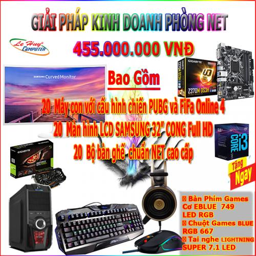 DỊCH VỤ PHÒNG GAME VIP 1 - MAIN GIGABYTE Z370M-DS3H - CPU Core I3 8100 - RAM DDR4  KM 8GB Bus 3000 - VGA GIGABYTE GTX1050TI 4GB...