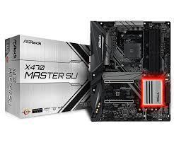 Bo Mạch Chủ - Mainboard Asrock X470 Master SLI (AMD)