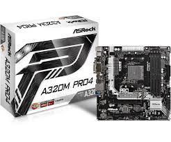 Bo Mạch Chủ - Mainboard Asrock A320M Pro 4 (AMD)