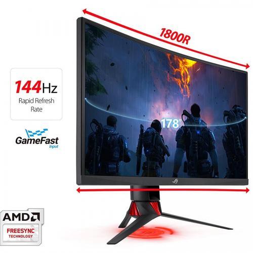 Màn hình LCD Asus 27'' ROG Strix XG27VQ FullHD 144Hz Curved - CONG