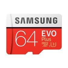 Thẻ nhớ Micro SDXC Samsung EVO Plus 64GB