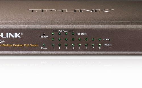Thiết bị chuyển mạch Switch TP-Link TL-SF1008P 8 Port 10/100Mbps PoE