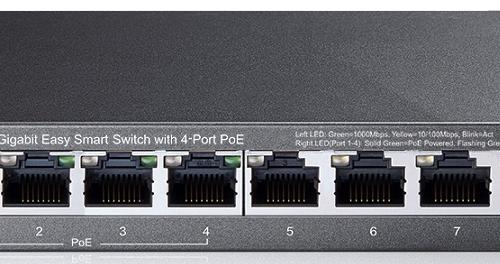 Thiết bị chuyển mạch Switch TP-Link TL-SG108PE 8 Port Gigabit Desktop PoE Easy Smart
