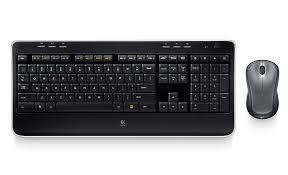 Combo Bàn phím & Chuột máy tính không dây Logitech MK215
