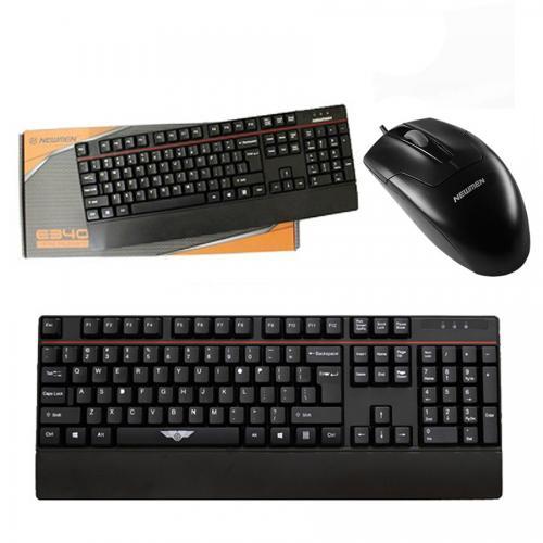 Combo Bàn phím & Chuột máy tính Newmen E340 - M180