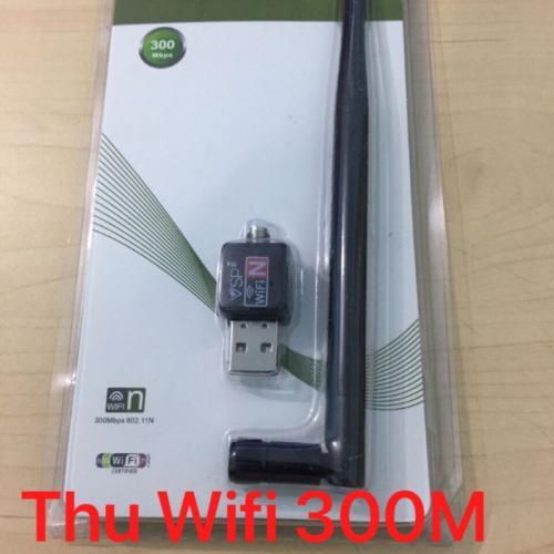 Bộ thu sóng Wifi VSP CHUẨN 802.11N- 1 ANTEN(300Mbps)  tháo rời
