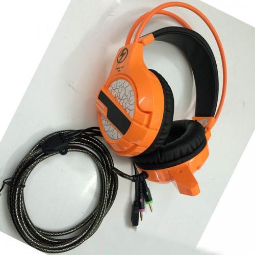 Tai Nghe Lightning A09 LED RUNG (CAM/XANH LÁ)