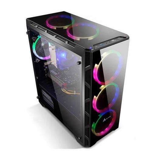 Vỏ máy tính Golden Field N55B Gaming 21+ (M-ATX)