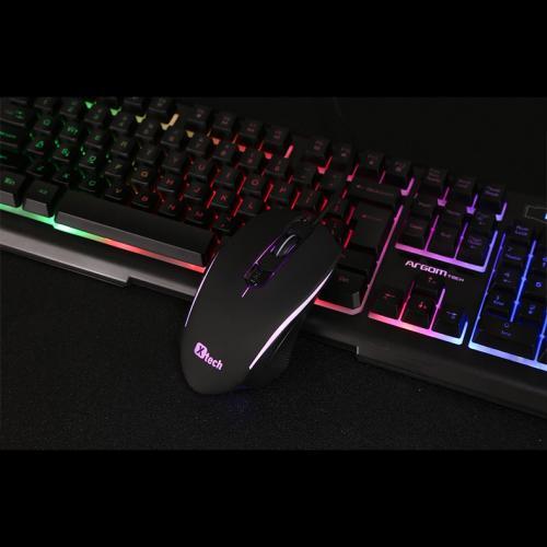 COMBO Bàn phím + Chuột chuyên GAME Xtech Gaming RGB (CHỐNG NƯỚC)