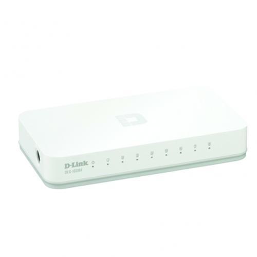 Thiết bị chuyển mạch Switch D-Link DES-1008C 8 Port 10/100MBPS