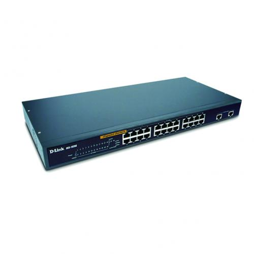 Thiết bị chuyển mạch Switch D-Link DES-1026G 24 Port 10/100MBPS + 2 port Gigabit