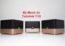 Thiết bị mạng - Router TotoLink T10 Wi-Fi gia đình AC1200