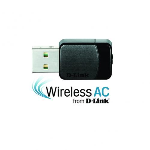 Bộ thu sóng Wifi D-Link DWA-171 USB AC600 Dual Band