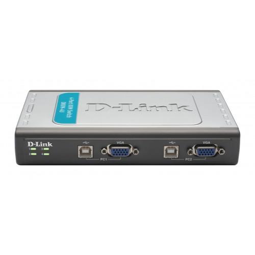 BỘ CHUYỂN ĐỔI TÍN HIỆU D-LINK DKVM - 4U 4Port USB