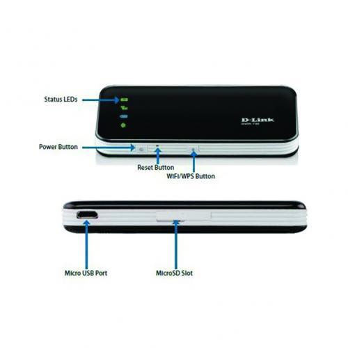Thiết bị mạng-Bộ phát sóng Wifi di động My Pocket 3.75G Mobile D-Link DWR - 730